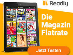 Die Readly Magazin Flatrate