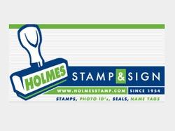 Holmes Stamp Sign