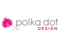 Polka Dot Design Stationery