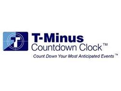 T Minus Baseball Countdown Clock
