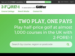 2 Fore 1 Golf