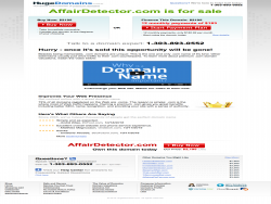 Affairdetector