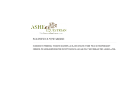 Ashe Equestrian