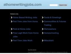 Athomewritingjobs
