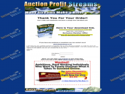 Auctionprofitstreams
