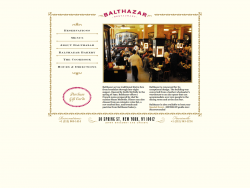 Balthazar Restaurant Oyster Bar
