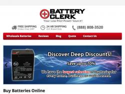 Battery Clerk