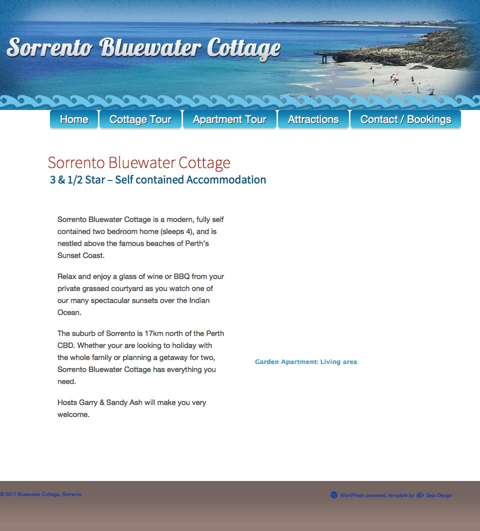 Bluewatercottage