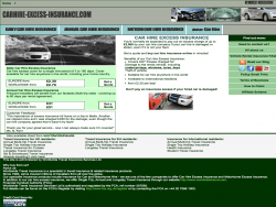 Carhire excess insurance