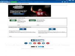 CBSSports College Fantasy Football