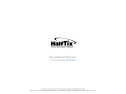 Citysearch HalfTix