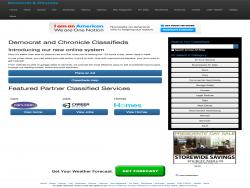 Classifieds democratandchronicle