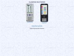 Classpad