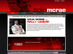 Colin McRae MBE 1968  2007