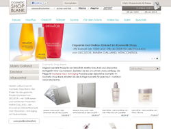 Cosmetic Shop Blank