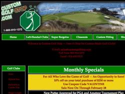 Custom Golf Stop