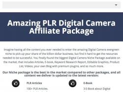 Digital Camera Profits For The Amateur Photographer