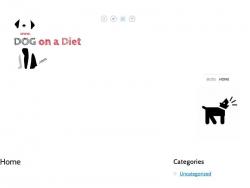 Dog On A Diet