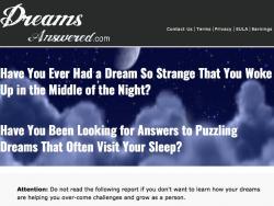 Dreamsanswered