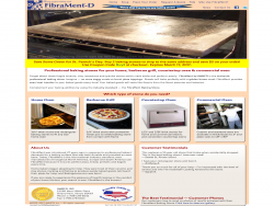 FibraMent Baking Stone