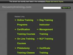 Focus My Training