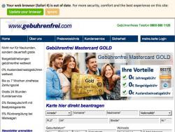 Gebuehrenfrei Mastercard Gold