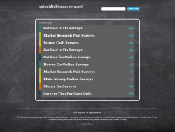 Getpaidtakingsurveys