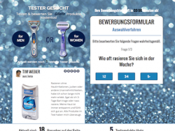 Gratis Gillette Test