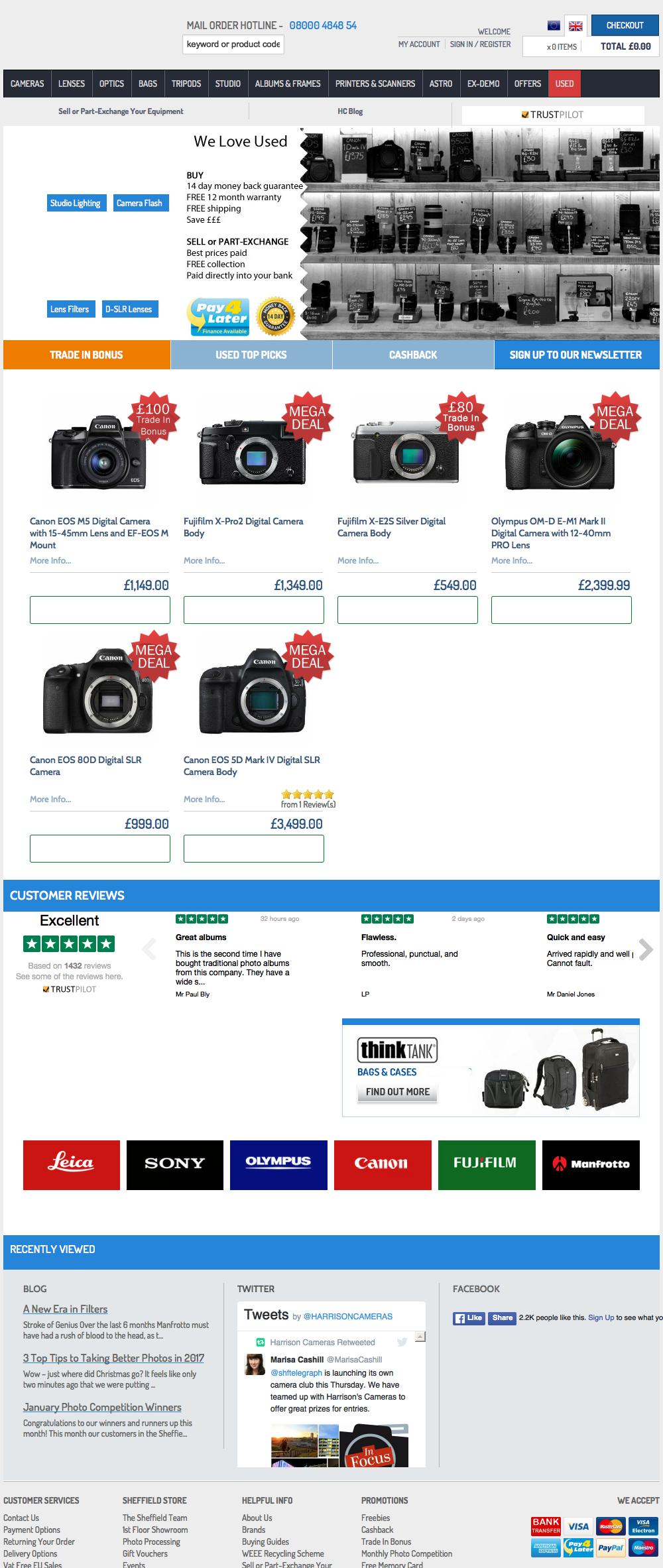Harrison Cameras
