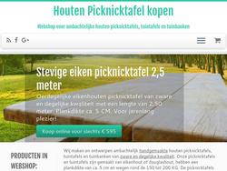 Houten Picknicktafel Kopen