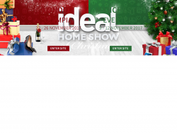 Ideal Home Show London At Christmas