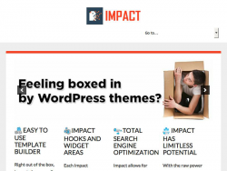 Impact Page Builder