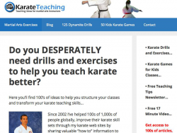 Karateteaching