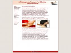 Massage Alternative Medicine