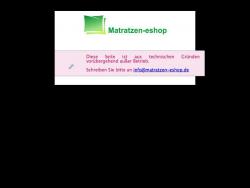 Matratzen Eshop