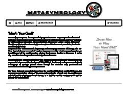 Metasymbology