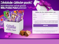 Milka Probierpaket