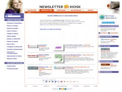 Newsletter Kiosk Campaign