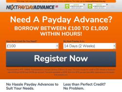 Next Payday Advance