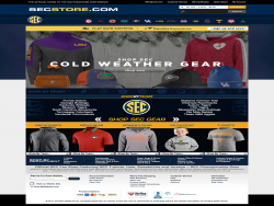 The Official Online Store Of SEC Sports
