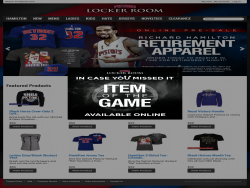 The Palace Locker Room Store Online