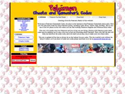 Pokemon Cheatcodes