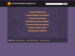 Prematurebabyathomeguide