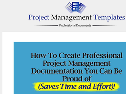 Project Manager Templates