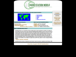 Radiostationworld