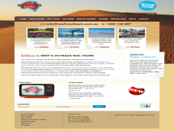 Reef N Outback Rail Tours