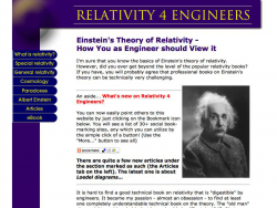 Relativity 4 Engineers.