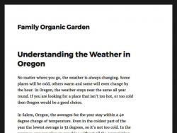 Save Money With Your Own Organic Garden