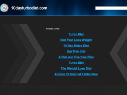 The 10 Day Turbo Diet