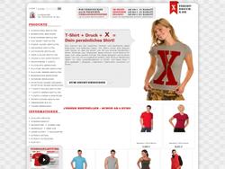 Tshirt Druck X